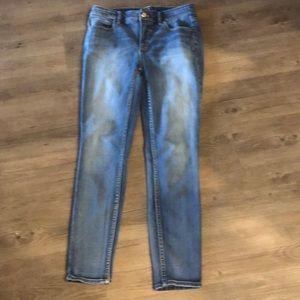 White House Black Market high rise skinny jeans